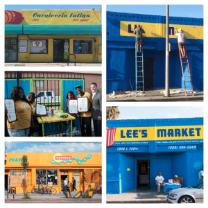 LA Mas and Lee's Market